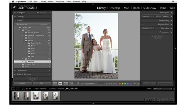 Working in the Grid and Loupe views: Lightroom 4 Essentials: 01 Organizing and Sharing with the Library Module