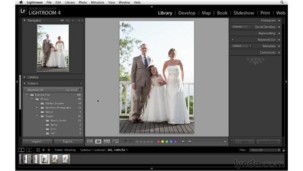 Navigating and zooming: Lightroom 4 Essentials: 01 Organizing and Sharing with the Library Module