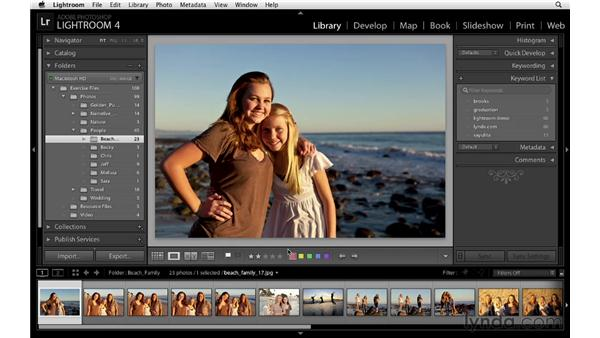 Working with flags, stars, and labels: Lightroom 4 Essentials: 01 Organizing and Sharing with the Library Module
