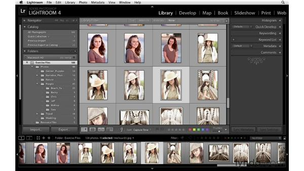 Using Quick Collections: Lightroom 4 Essentials: 01 Organizing and Sharing with the Library Module