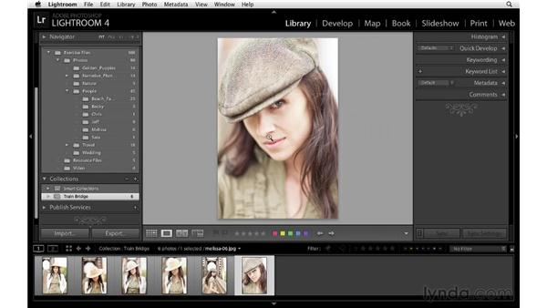 Working with collections: Lightroom 4 Essentials: 01 Organizing and Sharing with the Library Module