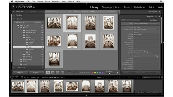 : Lightroom 4 Essentials: 01 Organizing and Sharing with the Library Module