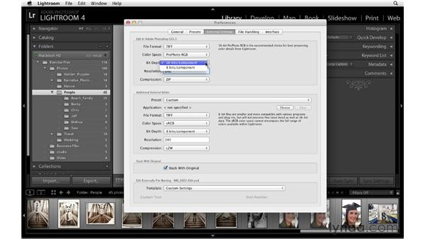 External editing preferences: Lightroom 4 Essentials: 01 Organizing and Sharing with the Library Module