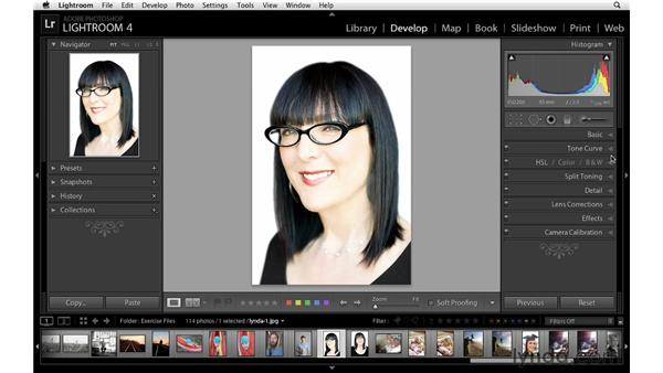 : Lightroom 4 Essentials: 02 Enhancing Photos with the Develop Module
