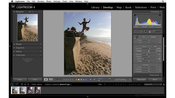 Workflow considerations: Lightroom 4 Essentials: 02 Enhancing Photos with the Develop Module