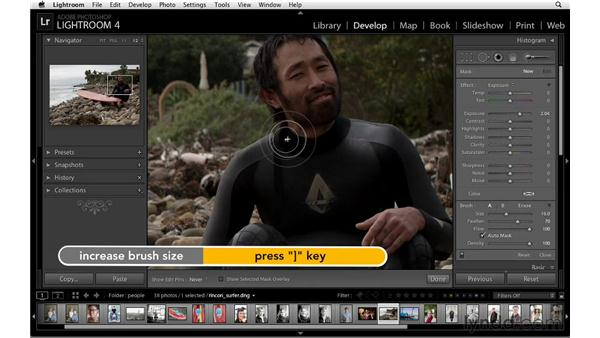 Reducing noise: Lightroom 4 Essentials: 02 Enhancing Photos with the Develop Module