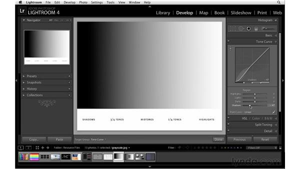 Demystifying the Tone Curve controls: Lightroom 4 Essentials: 02 Enhancing Photos with the Develop Module