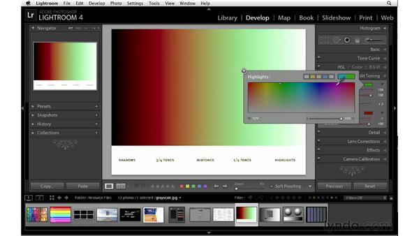 Split-toning essentials: Lightroom 4 Essentials: 02 Enhancing Photos with the Develop Module