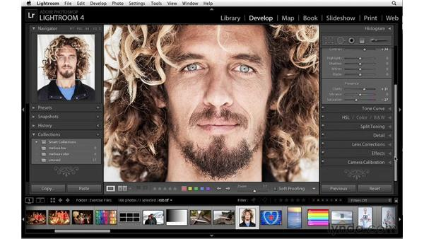 Sharpening workflow: Lightroom 4 Essentials: 02 Enhancing Photos with the Develop Module