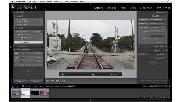 Video playback, trimming, and more: Lightroom 4 New Features