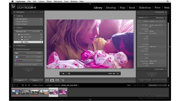 Capturing a still image from a video file: Lightroom 4 New Features