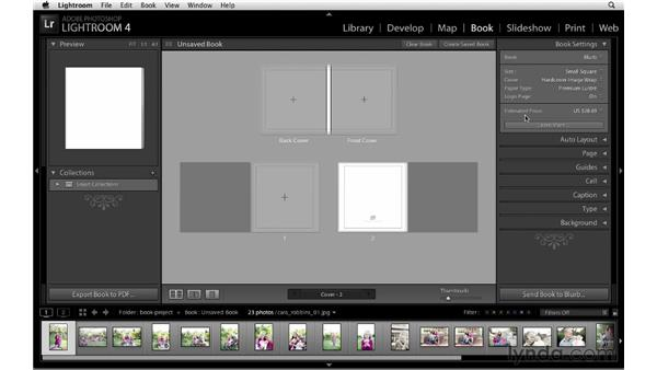 Overview of the new Book module: Lightroom 4 New Features