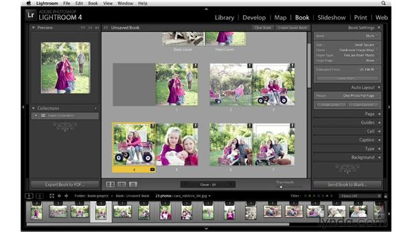 Creating and customizing a layout: Lightroom 4 New Features