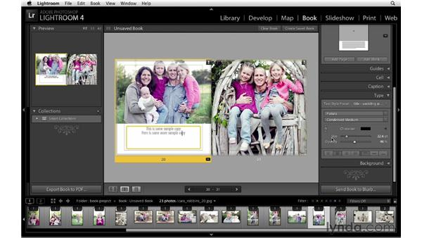 Editing pages: Lightroom 4 New Features