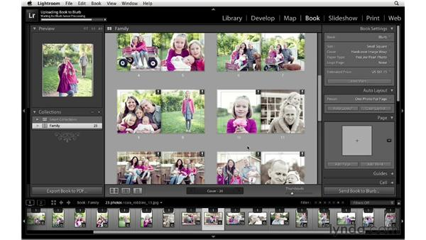 Exporting and ordering books: Lightroom 4 New Features