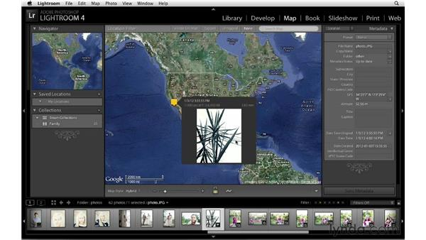 Map module orientation and tips: Lightroom 4 New Features