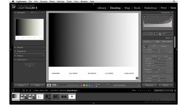 Overview of the new Develop module: Lightroom 4 New Features
