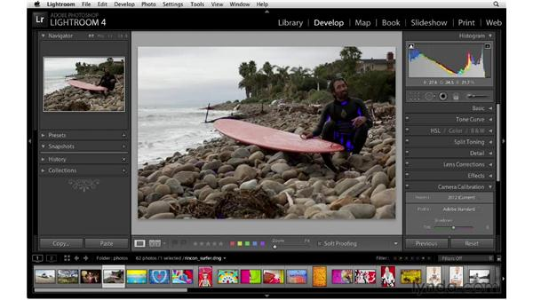 Using the Develop module's basic controls: Lightroom 4 New Features