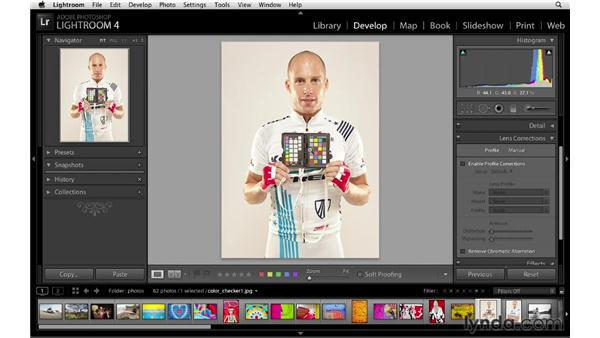 Fixing chromatic abberation and white balance issues: Lightroom 4 New Features
