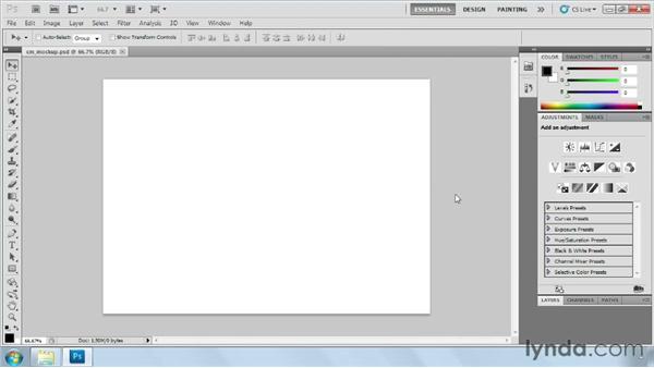 Setting up Photoshop: Designing Web Sites from Photoshop to Dreamweaver