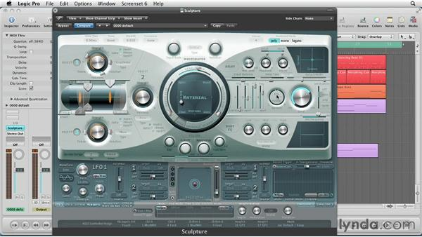 Adjusting the Pickups and Global Voice Settings: Virtual Instruments in Logic Pro