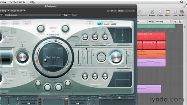 Adding depth to the stereo delay: Virtual Instruments in Logic Pro