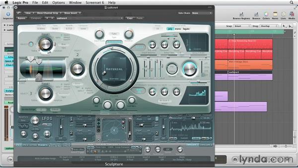 Composing with Sculpture: Virtual Instruments in Logic Pro