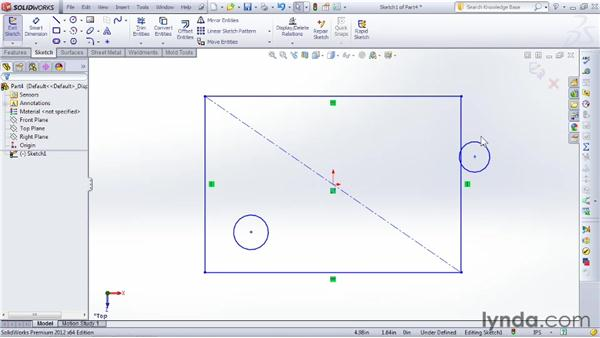 The six steps used in almost all modeling features: SOLIDWORKS 2012 Essential Training