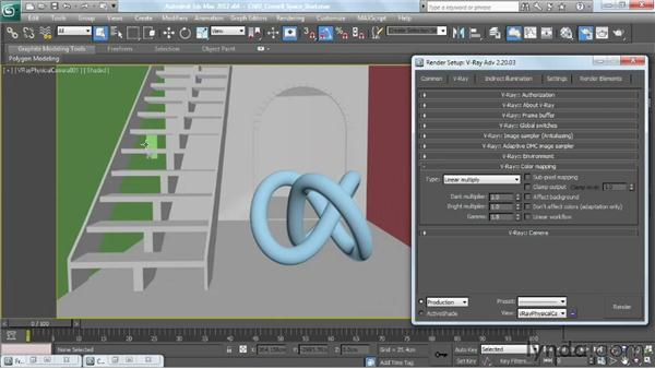 Overview of color mapping: V-Ray 2.0 for 3ds Max Essential Training