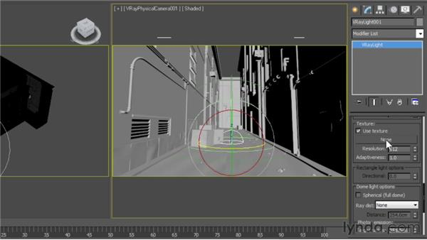 Working with the dome light: V-Ray 2.0 for 3ds Max Essential Training