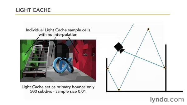 How light cache works: V-Ray 2.0 for 3ds Max Essential Training