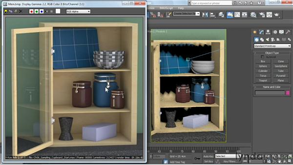 Introduction to image sampling: V-Ray 2.0 for 3ds Max Essential Training