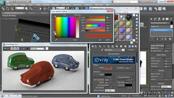 Demonstrating the RT workflow: V-Ray 2.0 for 3ds Max Essential Training