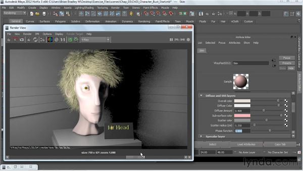 : V-Ray 2.0 for Maya Essential Training