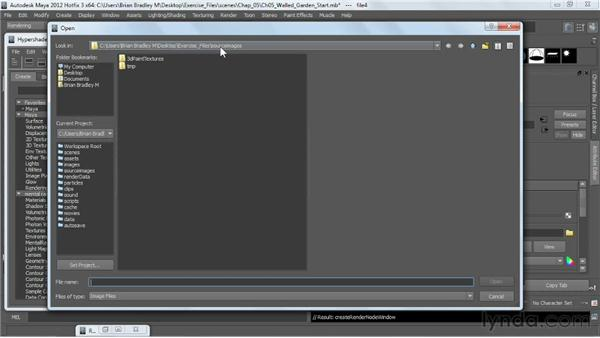 Creating diffuse color: V-Ray 2.0 for Maya Essential Training