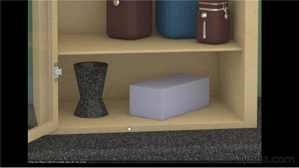 Working with the Adaptive Subdivision sampler: V-Ray 2.0 for Maya Essential Training