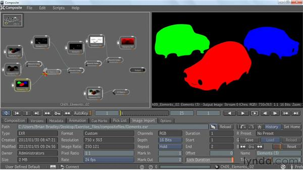 Putting extra elements to work: V-Ray 2.0 for Maya Essential Training