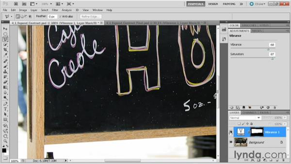 Using the Expand and Contract commands: Practical Photoshop CS5 Selections