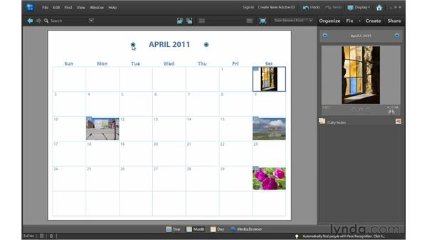 Displaying photos in Date view: Photoshop Elements 10 Essential Training