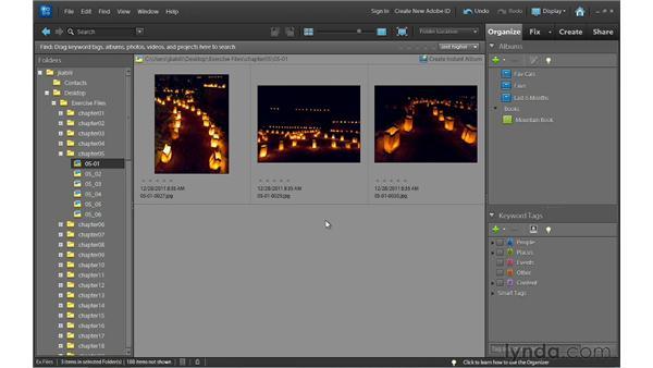 Deleting photos: Photoshop Elements 10 Essential Training
