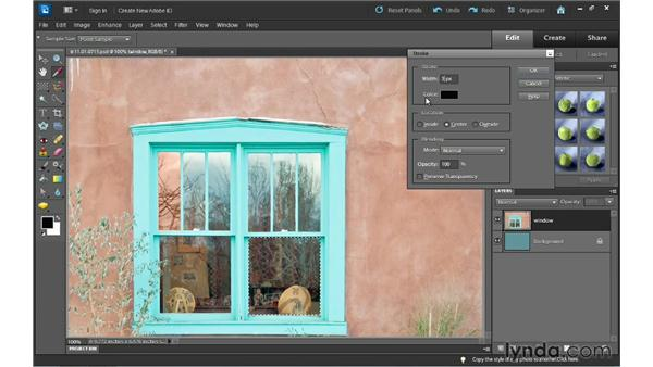 Understanding selections: Photoshop Elements 10 Essential Training