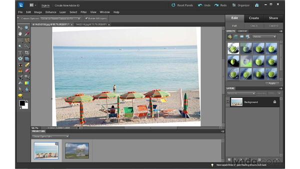 : Photoshop Elements 10 Essential Training