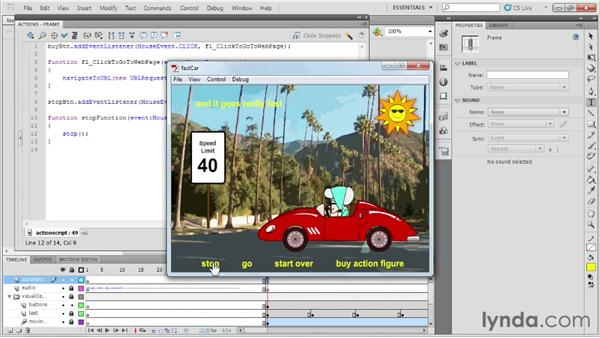 Controlling the Timeline: Up and Running with Flash Professional