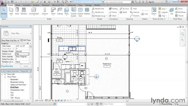 Reviewing the project requirements: Designing a House in Revit Architecture