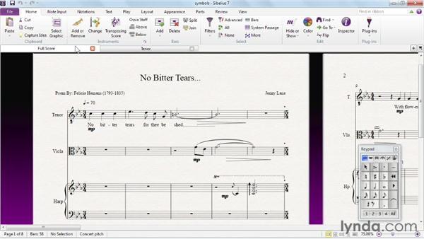 Using the exercise files: Sibelius 7 Essential Training