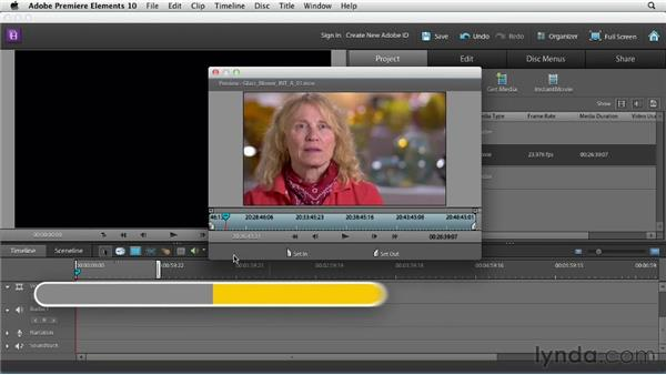 Evaluating interviews: Creating a Mini Documentary with Premiere Elements