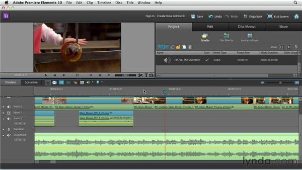 Editing with music: Creating a Mini Documentary with Premiere Elements
