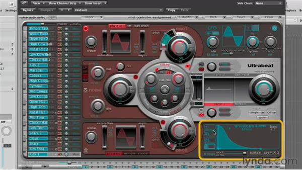 Getting started with Ultrabeat: Virtual Instruments in Logic Pro