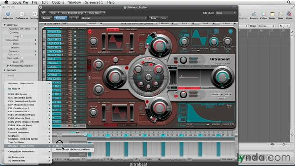 Exploring the Assignment section: Virtual Instruments in Logic Pro