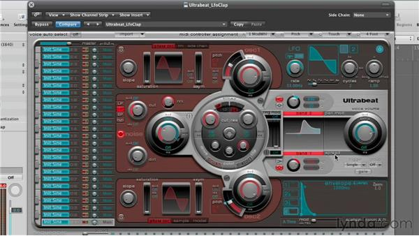 Refining the sound with EQ in the Output section: Virtual Instruments in Logic Pro